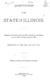 Constitution of the State of Illinois