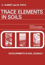 Trace Elements in Soils