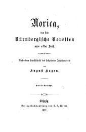 Norica: das sind Nürnbergische Novellen aus alter Zeit