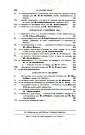 La Réforme sociale: bulletin de la Société d'économie sociale et des Unions de la Paix sociale