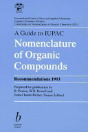 A Guide to IUPAC Nomenclature of Organic Compounds PDF