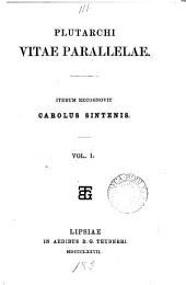 Plutarchi Vitae parallelae, iterum recogn. C. Sintenis