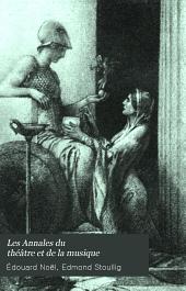 Les Annales du théâtre et de la musique: Volume25