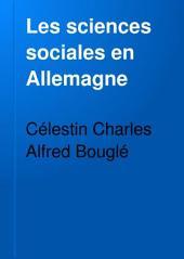 Les sciences sociales en Allemagne: les méthodes actuelles