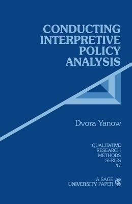Conducting Interpretive Policy Analysis PDF