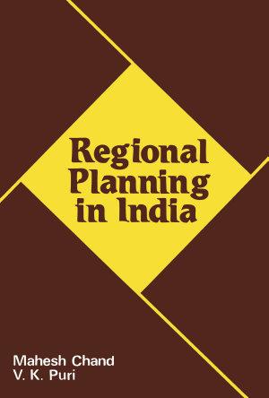 Regional Planning in India PDF