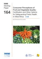 Consumer Perceptions of Fruit and Vegetable Quality PDF