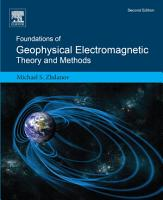 Foundations of Geophysical Electromagnetic Theory and Methods PDF