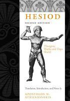 Hesiod PDF