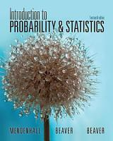 Introduction to Probability and Statistics PDF