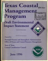 Texas Coastal Management Program: Environmental Impact Statement