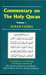 Commentary On The Holy Quran Surah Fatiha Book PDF