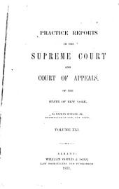 Practice Reports in the Supreme Court and Court of Appeals: Volume 41