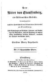 Der Ritter von Stauffenberg: ein altdeutsches gedicht