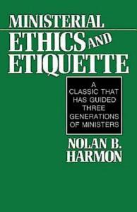 Ministerial Ethics and Etiquette PDF