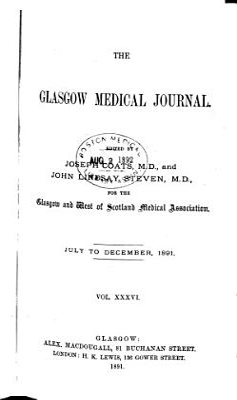 Glasgow Medical Journal PDF