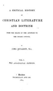 A Critical History of Christian Literature and Doctrine PDF