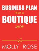 Business Plan For A Boutique Shop PDF