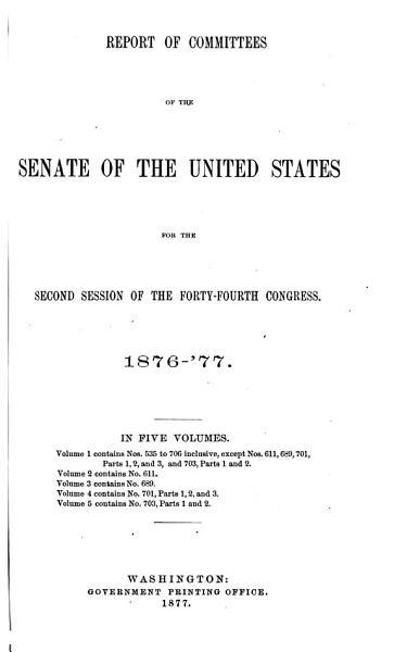 Download Senate documents Book