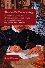 The Devil's Handwriting