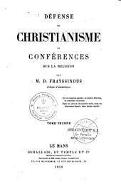 Défense du christianisme ou conférences sur la religion