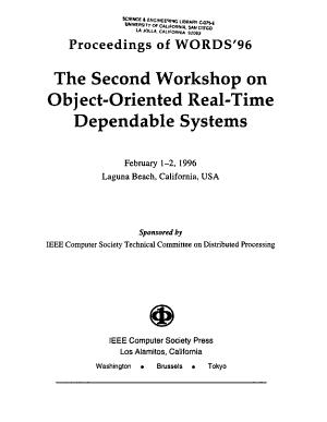 Proceedings of WORDS 96 PDF