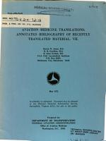 Aviation Medicine Translations PDF