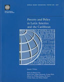 Poverty and Policy in Latin America and the Caribbean