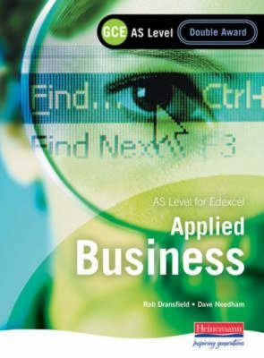 GCE AS Level Applied Business Double Award for Edexcel PDF