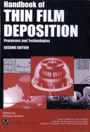 Handbook of Thin Film Deposition Techniques Principles, Methods, Equipment and Applications, Second Editon