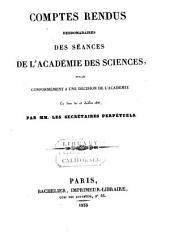 Comptes rendus hebdomadaires des séances de l'Académie des sciences: Volume1