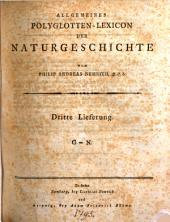 Allgemeines Polyglotten-Lexicon der Natur-Geschichte mit erklärenden Anmerkungen: Band 5