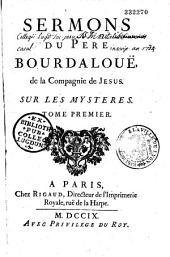 Sermons du P. Bourdaloue,...