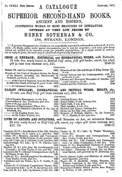 Download Sotheran s Price Current of Literature Book
