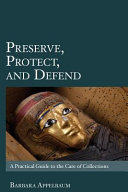 Preserve  Protect  and Defend Book