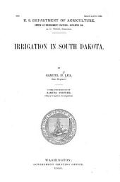 Irrigation in South Dakota