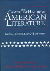 The Cambridge History of American Literature  Volume 7  Prose Writing  1940 1990 PDF