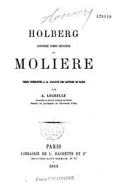 Holberg considéré comme imitateur de Molière