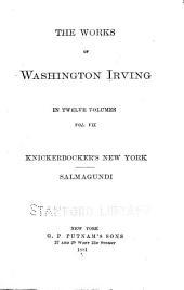 The Works of Washington Irving in Twelve Volumes: Volume 7
