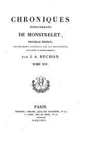 Mémoires de Jacques Du Clercq: Volume3