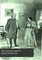 Last chronicles of Barset PDF