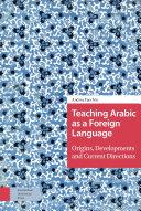 Teaching Arabic as a Foreign Language
