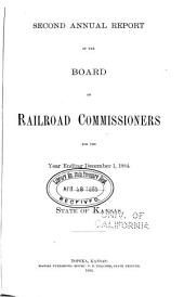 Annual Report of the Board of Railroad Commissioners, for the Year Ending ...: Volume 2