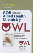 Owl with EBook  6 Months  Printed Access Card for Seager Slabaugh s Chemistry for Today  General  Organic  and Biochemistry Pkg