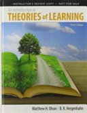 An Introduction to Theories of Learning PDF