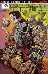 Teenage Mutant Ninja Turtles: Secret History of the Foot Clan #1