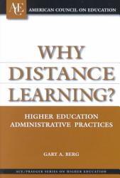 Why Distance Learning  Book PDF