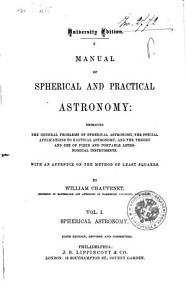 A Manual of Spherical and Practical Astronomy PDF