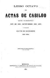 Actas modernas de Cabildo