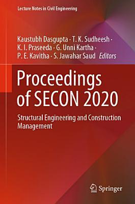 Proceedings of SECON 2020 PDF